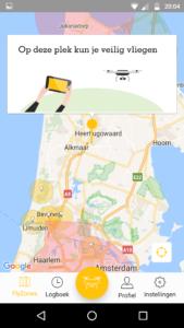 No fly zones Noord-Holland