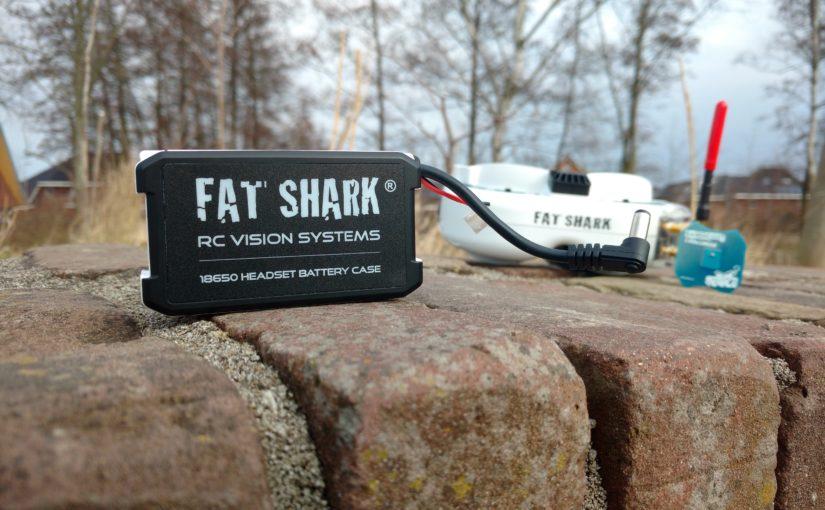 Fat Shark battery case FSV1814