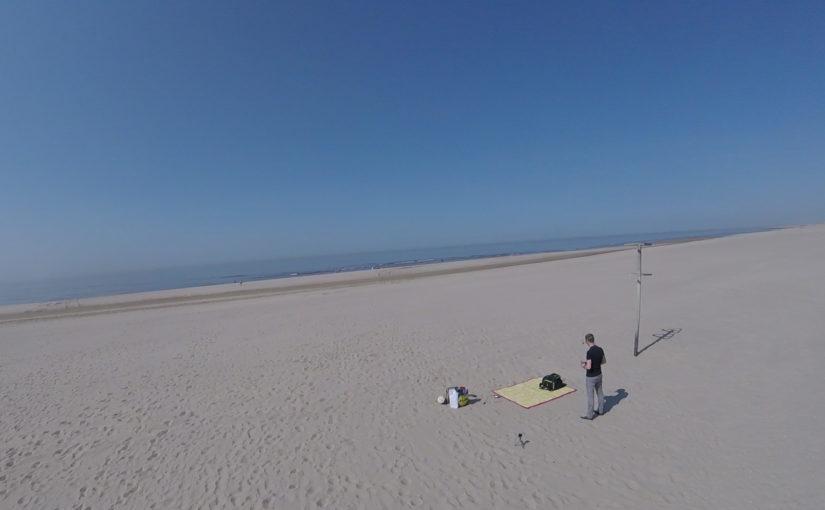 Vloggen en FPV op het Pettense strand