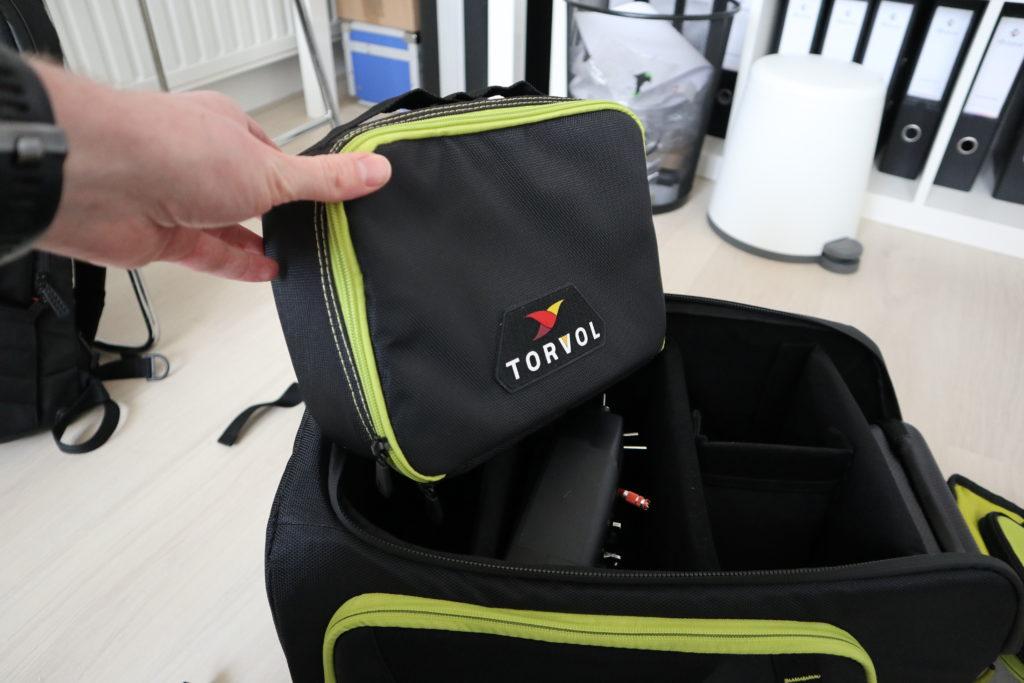 De meegeleverde Lipo safe pouch.