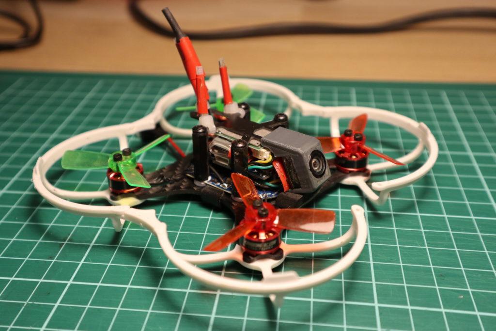 Mijn gemodificeerde KingKong LDARC 90GT quadcopter.