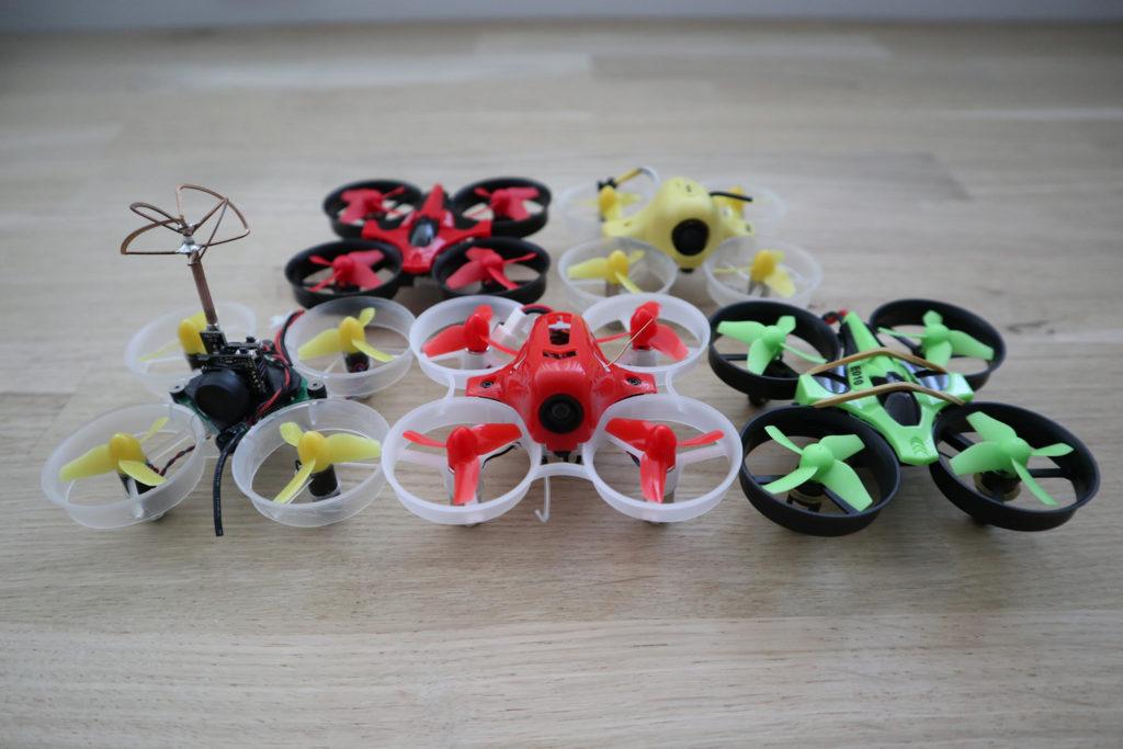 Verzameling micro drones.