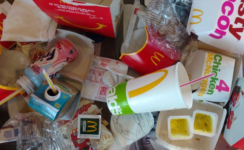 Zondigen bij de McDonald's