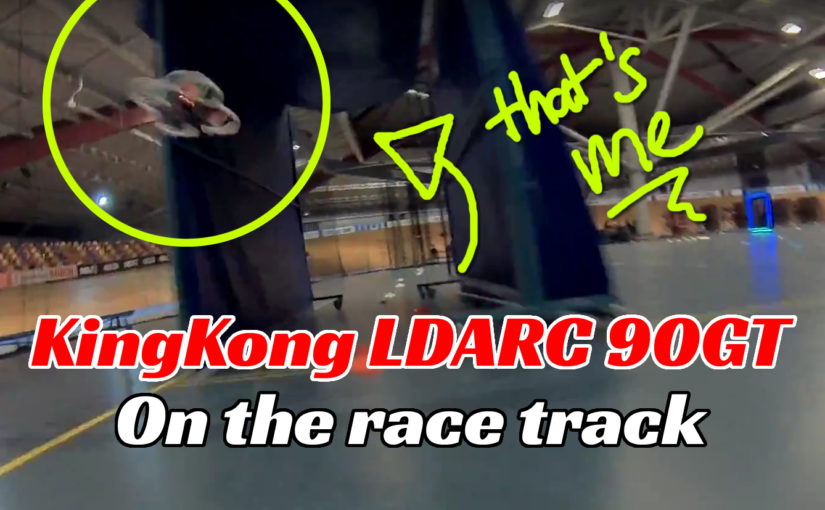 KingKong 90GT gezien vanaf een andere race quad.