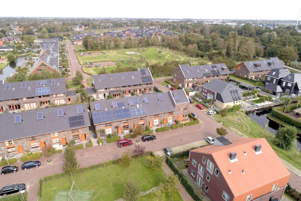 De Nollen Oost Alkmaar, luchtfoto
