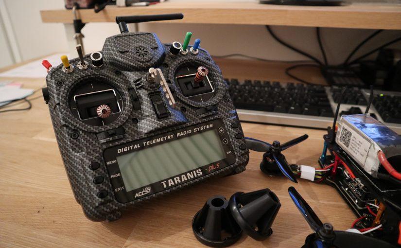 Nieuwe Taranis X9D plus SE radio