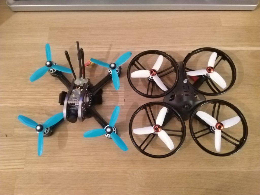 GEPRC MX3 Sparrow en KingKong LDARC ET125 .