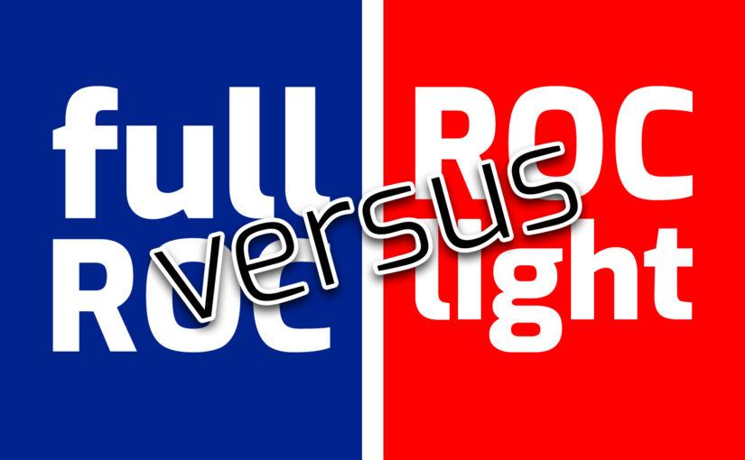 ROC light versus ROC volledig
